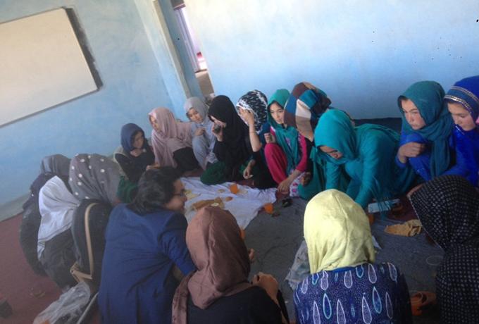 Afghanistan School Girls Jaghori Ghazni Afghan Women