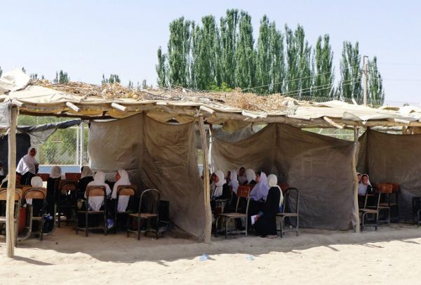 Afghan school girls- Afghan school- Afghanistan- Education